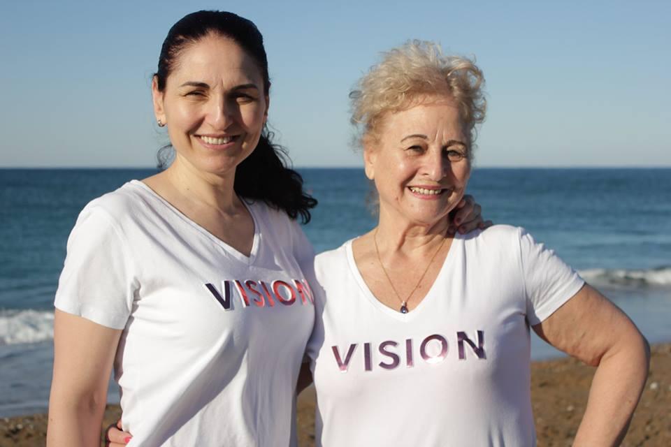 С Vision Fit на Средиземно море в Сиде, Анталия, Турция