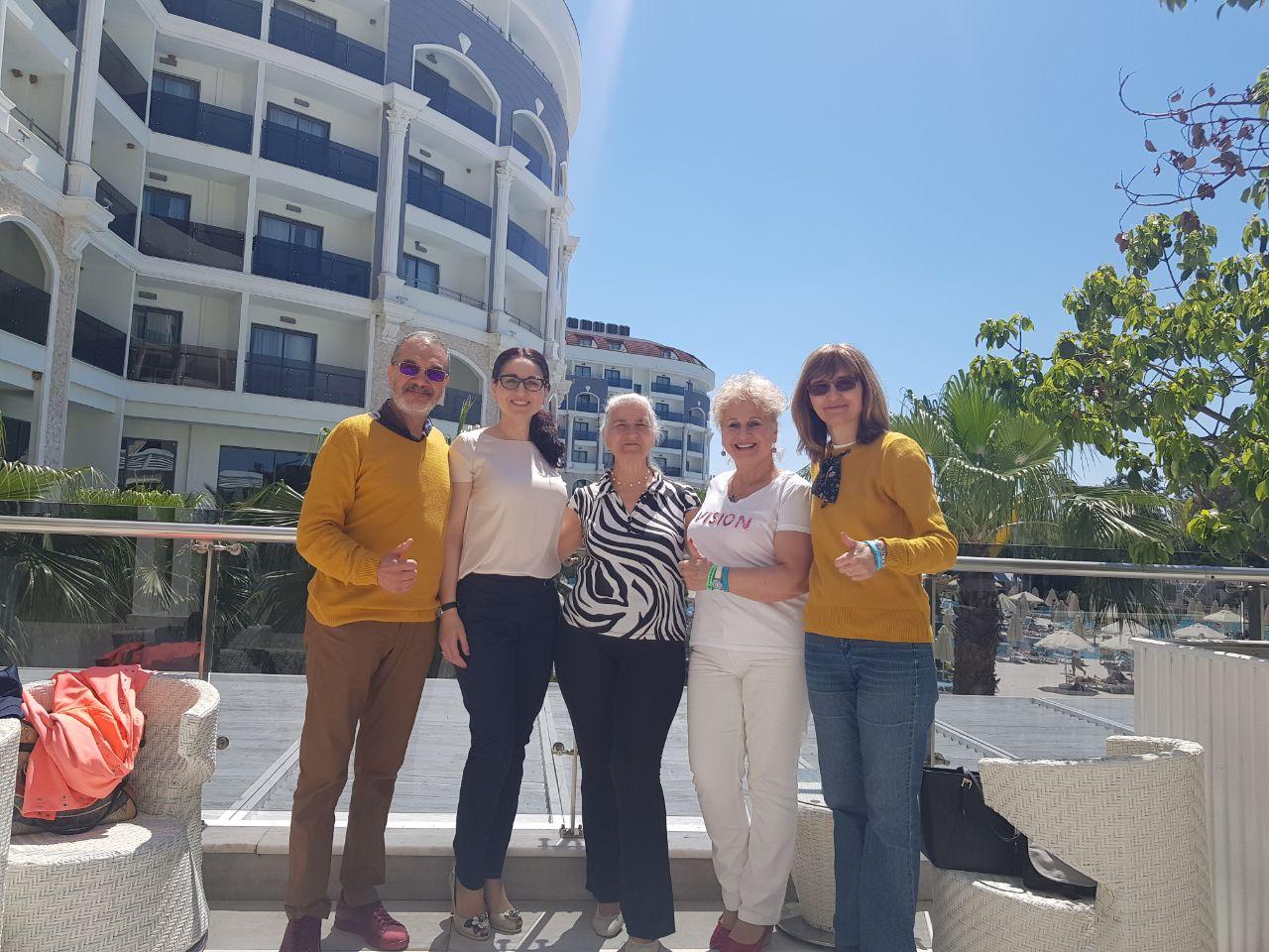 С партньори в Турция - Лидерски семинар